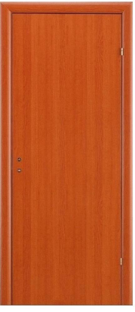 Дверь с четвертью, цвет вишня (размер 0.7х2м)