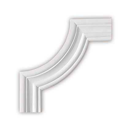 Угол декоративный Decomaster 97164-2  (к молдингу  97164)