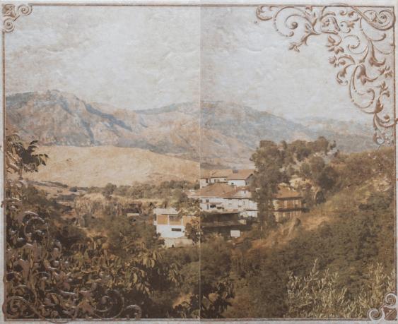 Панно Gracia Ceramica Palermo бежевый 01 50х40