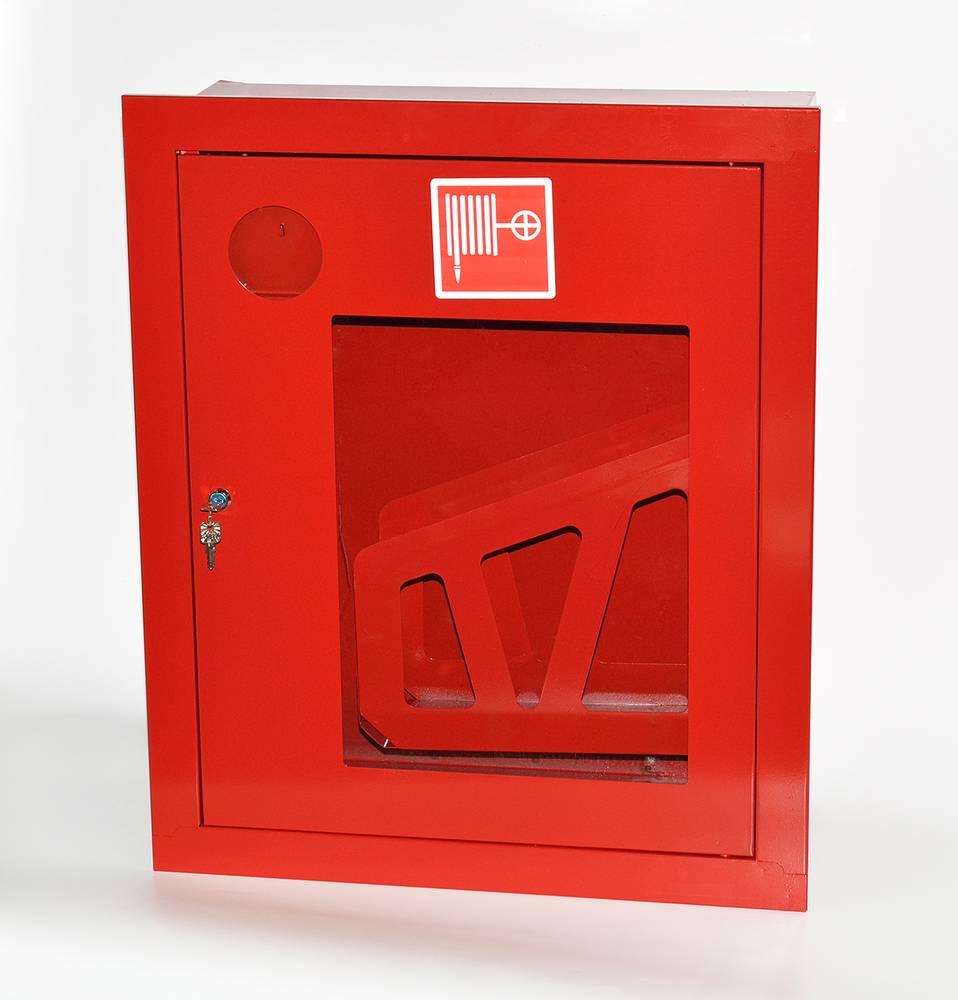 Шкаф пожарный ШПК-310ВОК встраиваемый открытый красный
