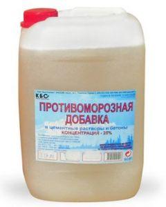 Противоморозная добавка (с пластификатором), 10л