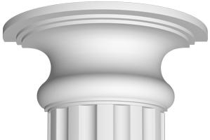 Полукапитель Decomaster 90018-3Н (размер 130х320х160)