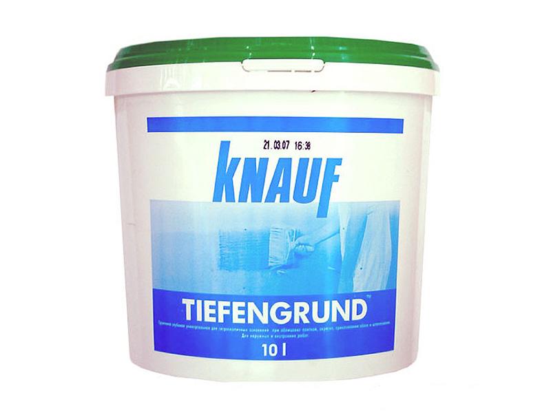 Грунтовка Тифенгрунд Кнауф | Tiefengrund Knauf, 10л