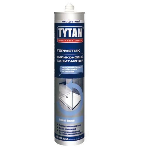 Герметик силиконовый Tytan Professional санитарный белый 310 мл