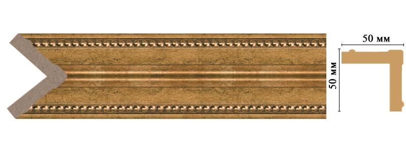 Цветной угол Decomaster 142-58 (размер 50х50х2400)