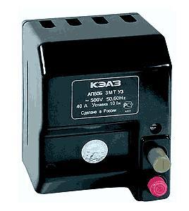 Автоматический выключатель АП50 40А