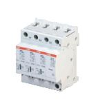 ABB OVR Ограничитель перенапряжения T2 3P+N 40 275 P ( тип 2 ) (2CTB803953R1100)