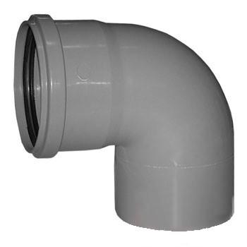 Отвод 110х90гр (внутр. канализация)