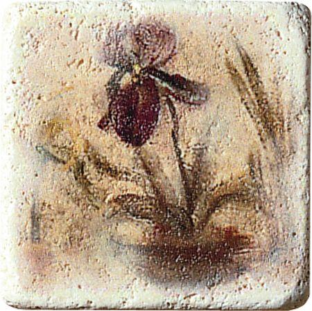 Плитка Cir Marble Age Ins.Travertino S/3 (Один Цветок) 1511084-00-1300-1