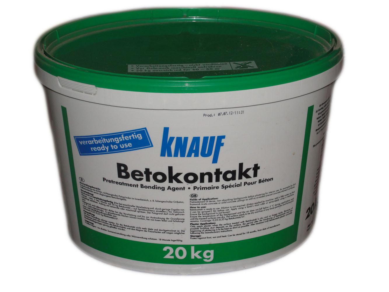 Купить со скидкой Бетоконтакт Кнауф / Knauf, 20кг
