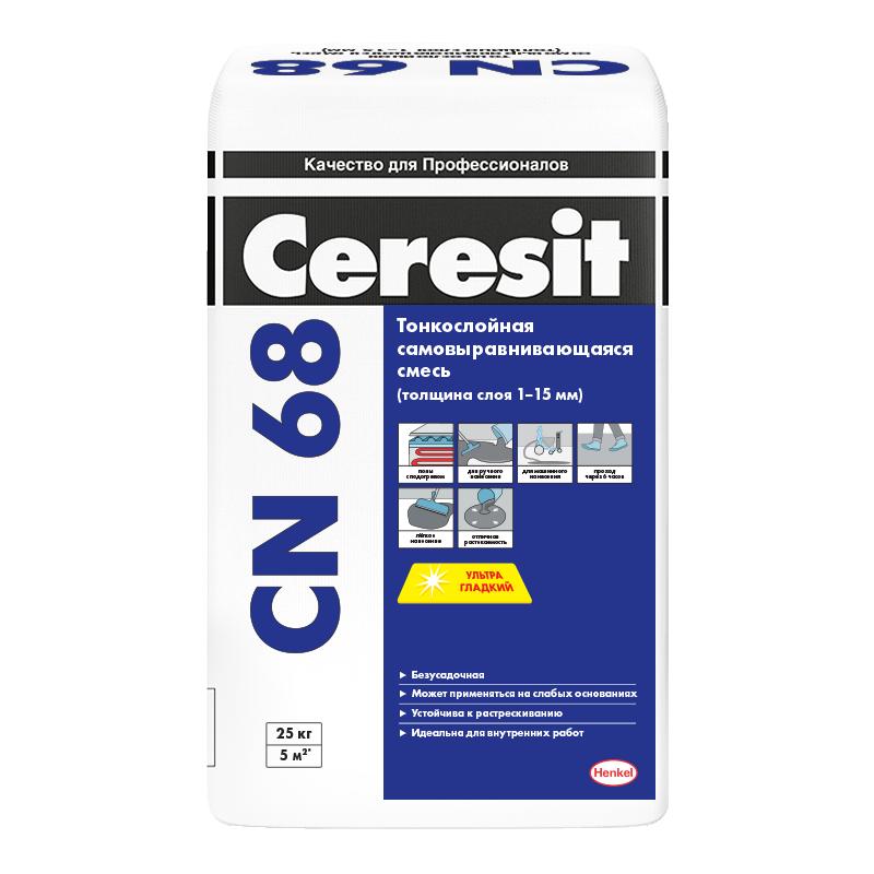 Ровнитель для пола Ceresit CN 68