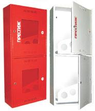 Шкаф пожарный Престиж ШПК-320-21НЗБ навесной закрытый белый