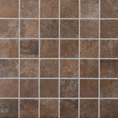Плитка Colorker Via Terra Mosaico Noce 2-007-5
