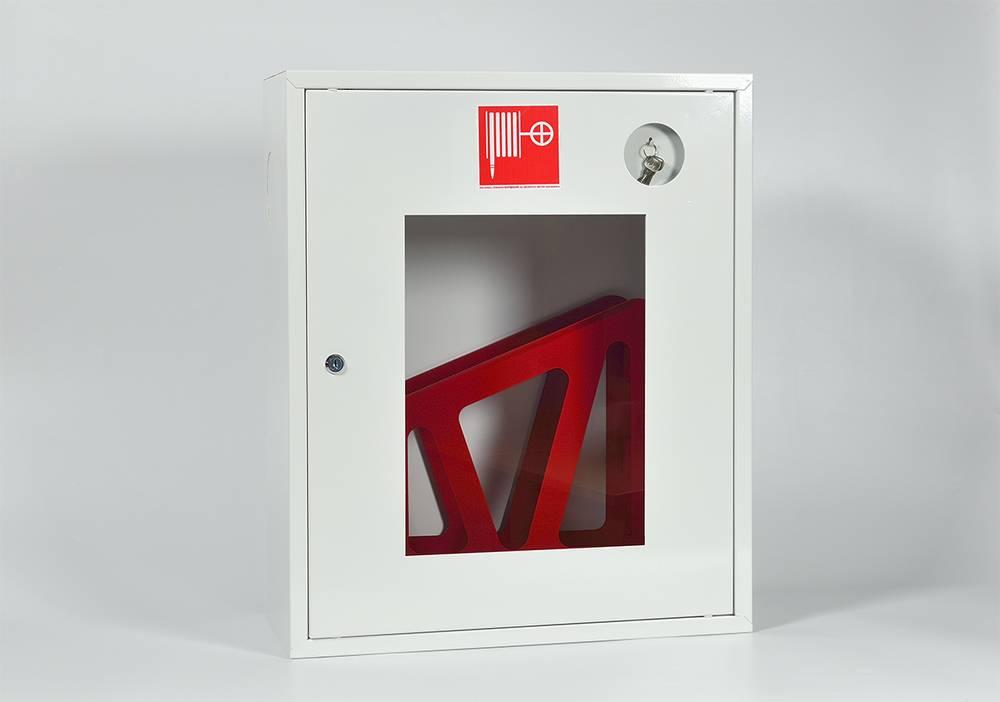 Шкаф пожарный ШПК-310НОБ  навесной открытый белый