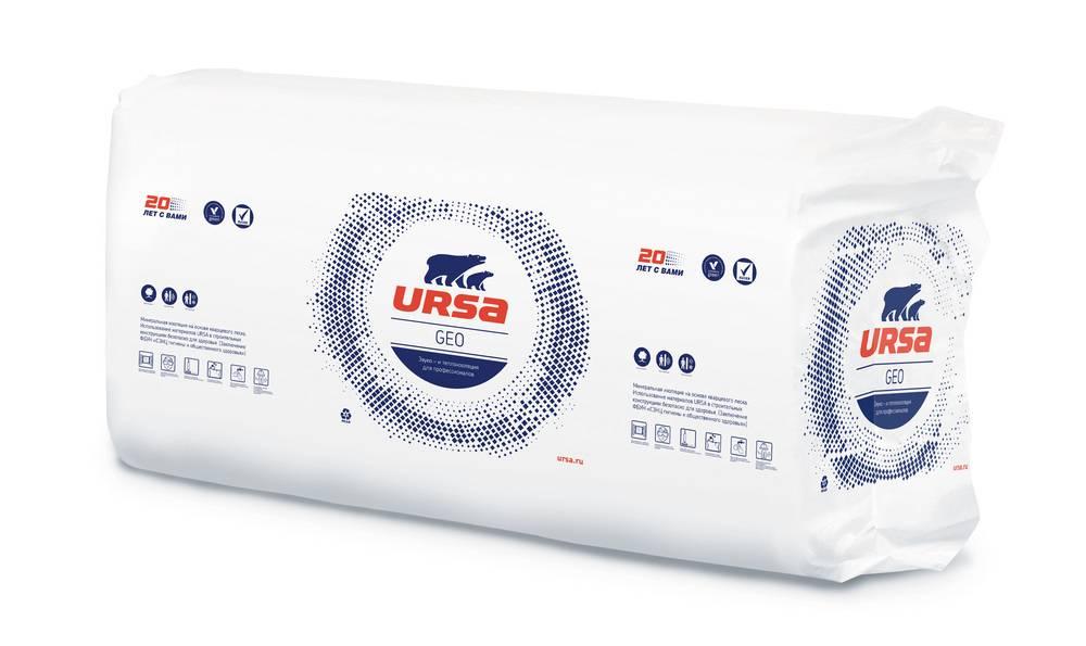 Ursa плита утеплитель (1250х600х100) 3м2 (0.3м3)