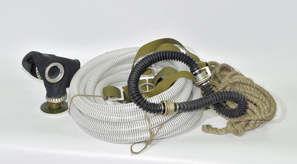 Противогаз шланговый ПШ-1С с сумкой