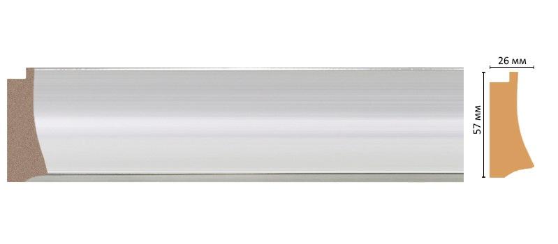 Багет Decomaster 553-1153 (размер 57х26х2900)