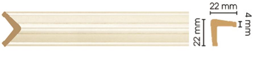 Уголок Decomaster 116S-937 (размер 22х22х2400)