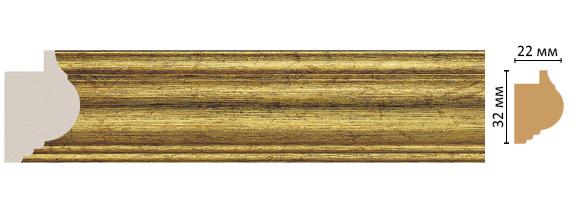 Багет Decomaster 651-176 (размер 32х22х2900)