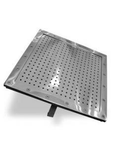 Рамка лицевая плато аэромассажного из нерж. стали (универ.квадрат) M.G 600-2