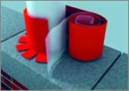 Ондуфлеш-супер 0,3 х 2,5 м гидроизоляционная гофролента алюминий