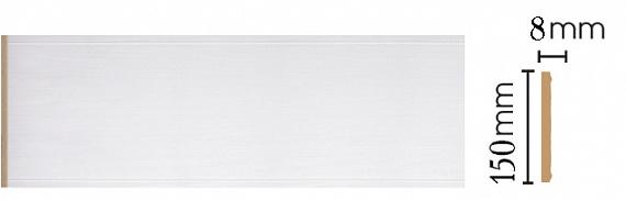 Декоративная панель  Decomaster  B15-118 (150х9х2400мм)