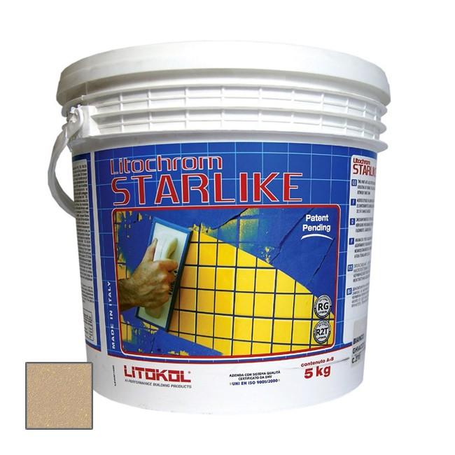 Затирка эпоксидная Litokol Litochrom Starlike C.250 Sabbia 5 кг