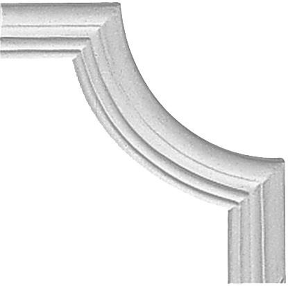 Угол декоративный Decomaster 97154-2 (размер 195х195х15)