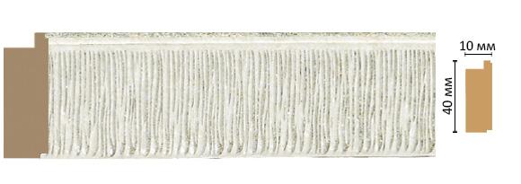 Багет Decomaster 109-20 (размер 40х10х2400)