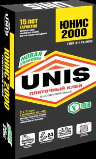 Юнис 2000 (плиточный клей, 25 кг)