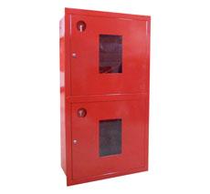 Шкаф пожарный ШПК-320-12ВОК встраиваемый открытый красный