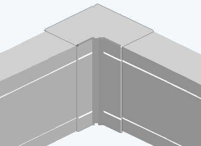 Угол внутренний для кабель-канала
