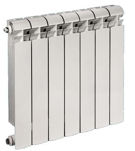 Биметаллический радиатор отопления (батарея), 4 секции