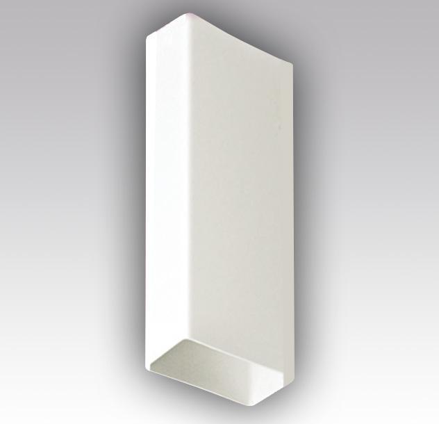 Воздуховод прямоугольный ПВХ 60х204, 1метр