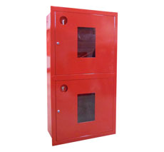 Шкаф пожарный Пульс ШПК-320-12ВОК встраиваемый открытый красный