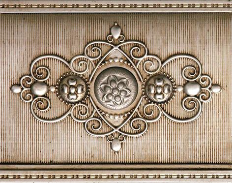 Плитка Aparici Olympo Myth Gold Zocalo 4-034-5
