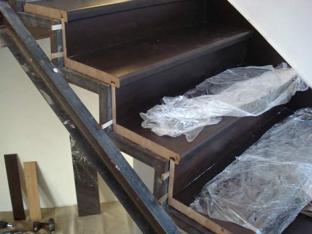 Лестница металлические своими руками
