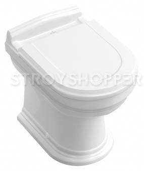 Унитаз приставной Villeroy and Boch Hommage 6663 10R2 star white