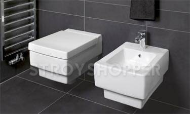 Биде подвесное Villeroy and Boch Memento 5428 00R2 star white