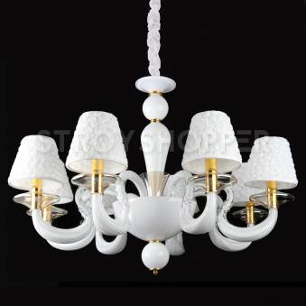 Люстра Crystal Lamp D1489-8WH
