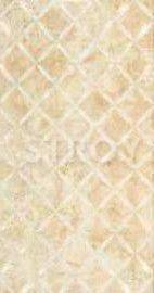 Плитка настенная Eco-Ceramic Cappucino Natural Dec SQM Trenza 31.6x60