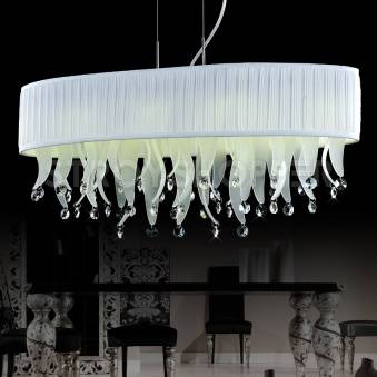 Подвес Crystal Lamp D1681-8WH