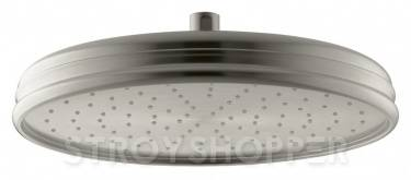Верхний душ Kohler Rainhead with Katalyst K-13694-BN матовый никель