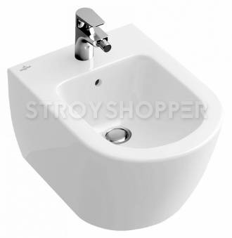 Биде подвесное Villeroy and Boch Subway 2.0 5400 00 01 alpin