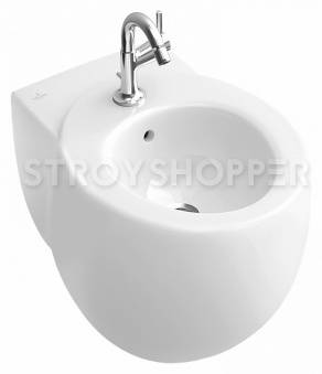 Биде подвесное Villeroy and Boch Aveo plus 7411 00R2 star white