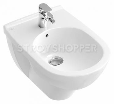 Биде подвесное Villeroy and Boch O'Novo 5460 0001 alpin