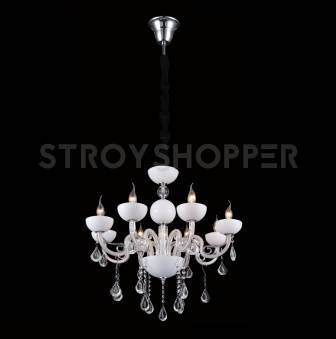 Люстра Crystal Lux LUCCILA SP8 WHITE