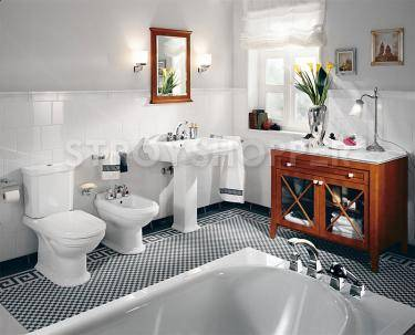 Унитаз-компакт Villeroy and Boch Hommage 6662 10R2 star white